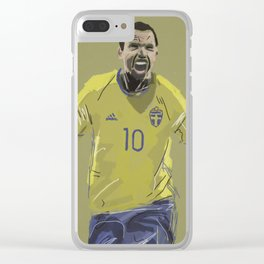 Dare to Zlatan Clear iPhone Case
