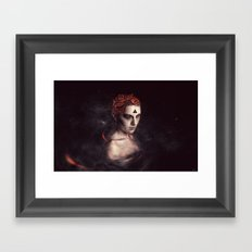 orgasm / luminescent series Framed Art Print