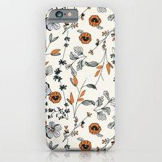Floral pattern Flowers Slim Case iPhone 6s