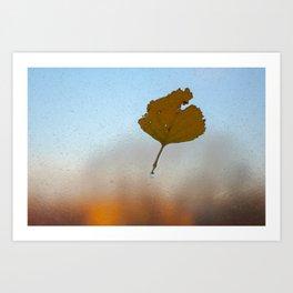 Piece of Autumn Art Print