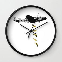 Banana Underground Wall Clock