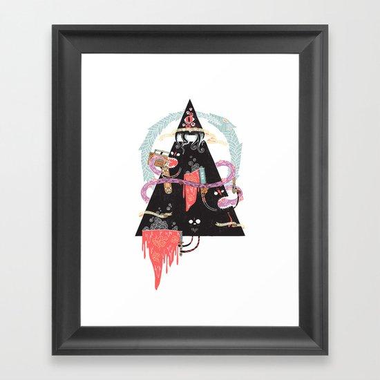 Ourobouros Framed Art Print