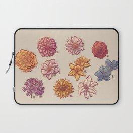 10 Flowers Laptop Sleeve