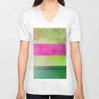 olivia joy V-neck T-shirts featuring Color Joy by Olivia Joy StClaire