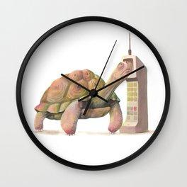 Slow Tech Wall Clock
