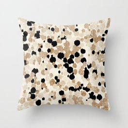 Pattern Dots Throw Pillow
