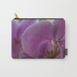 Macro Orchid Carry-All Pouch
