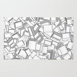 The Book Pile II Rug