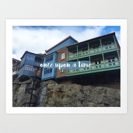 Once upon a time // #TravelSeries Art Print