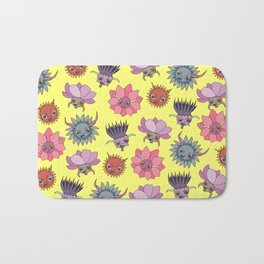 Wildflowers - Sunny Bath Mat
