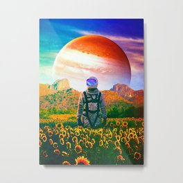 The Perpetually Lost Metal Print