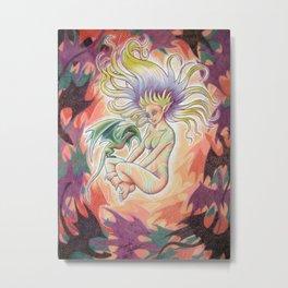 DragonStorm Metal Print