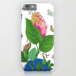 Dismorphia Rosa iPhone Case