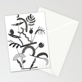 Abstract Botanica - 1 Stationery Cards