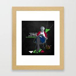 Memories and dreams Framed Art Print