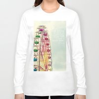 ferris wheel Long Sleeve T-shirts featuring Ferris wheel by Ana Guisado