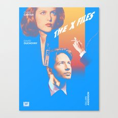 Mulder, Is That You? Canvas Print
