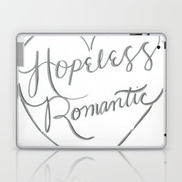Hopeless Romantic. Laptop & iPad Skin