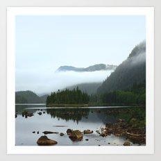 Peaceful Morning on the Lake Art Print