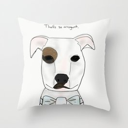 niles cramer Throw Pillow