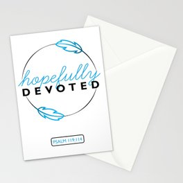Hopefully Devoted Stationery Cards