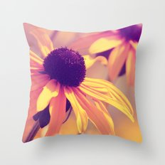 Yellow Flower - Rudbeckia Throw Pillow