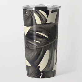 Monstera Leaves Pattern #8 #tropical #decor #art #society6 Travel Mug