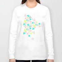 candy Long Sleeve T-shirts featuring Candy by Louise Machado