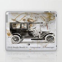 1910 Buick Limousine Laptop & iPad Skin
