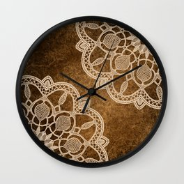 Coffee & Cream Wall Clock