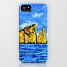 Kicker Rock (León Dormido) Galapagos iPhone Case