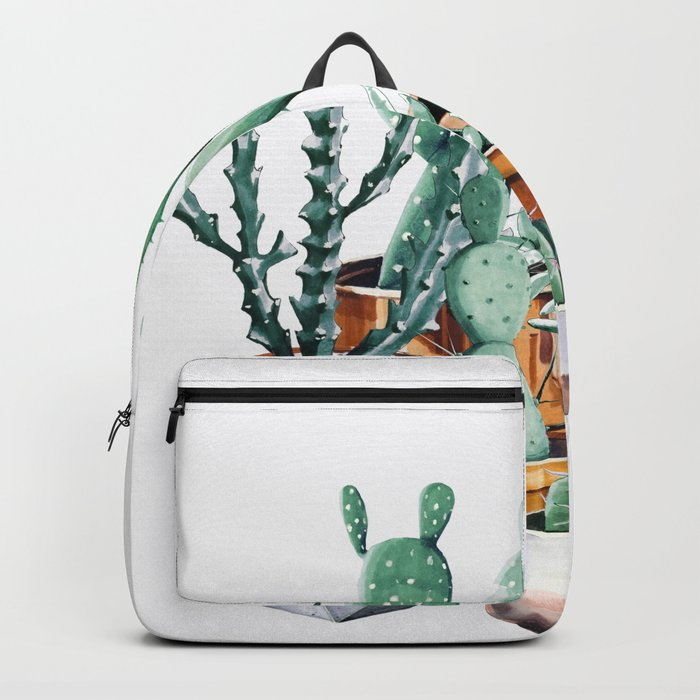 Potted Cacti Backpack