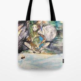 Mye's Earth Tote Bag