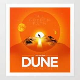 The Golden Path/Children of Dune Poster Art Print