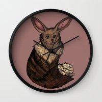eevee Wall Clocks featuring Eevee by Papa-Paparazzi