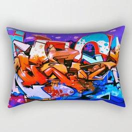 Urban Graffiti 51 Rectangular Pillow