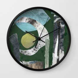 Collage Exp. 6 Wall Clock
