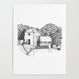 Claverton Pumping Station Poster