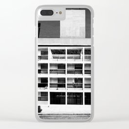 Architecture of Impossible_Como Le Corbusier Clear iPhone Case
