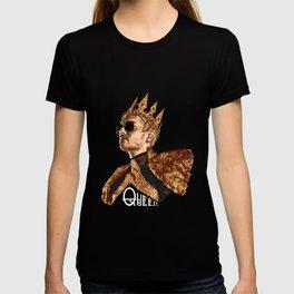 Queen Bill - White Text T-shirt