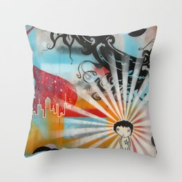 Compliments Don't Pay The Bills Throw Pillow