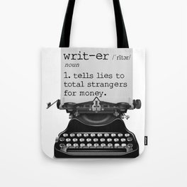 Writer Defined Tote Bag