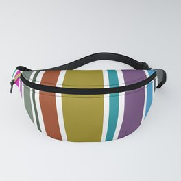 Stripped Fanny Pack