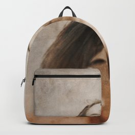 Woman smile Backpack