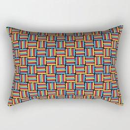 Primary Basketweave Rectangular Pillow
