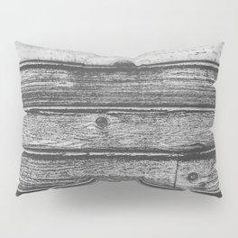 Weathered Wood Wall Pillow Sham
