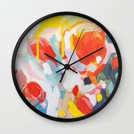 Color Study No. 6 Wall Clock