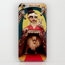 Uncle Edgar and the Hybrid Circus iPhone Skin