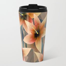 Orange lilies. Lily Travel Mug