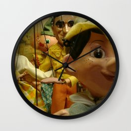 Puppet Party Wall Clock
